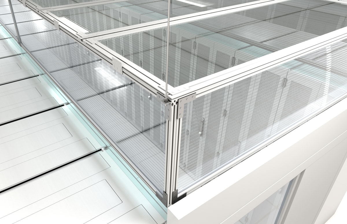 Aisle Containment Thermal Drop Panels