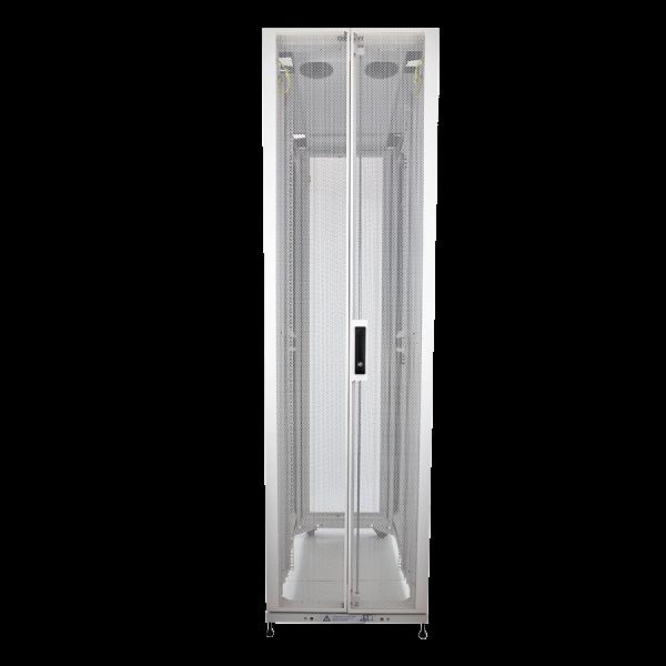 Enconnex Data Center Server Rack Cabinet Front Profile White