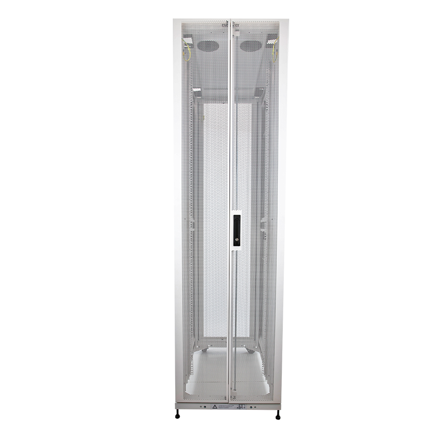 Enconnex-Server-Rack-Cabinet-Front-White-Data-Center