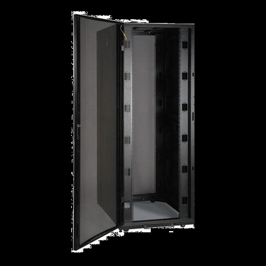 Enconnex-Standard-Server-Cabinet-Rack-Front-Black-Open-Door