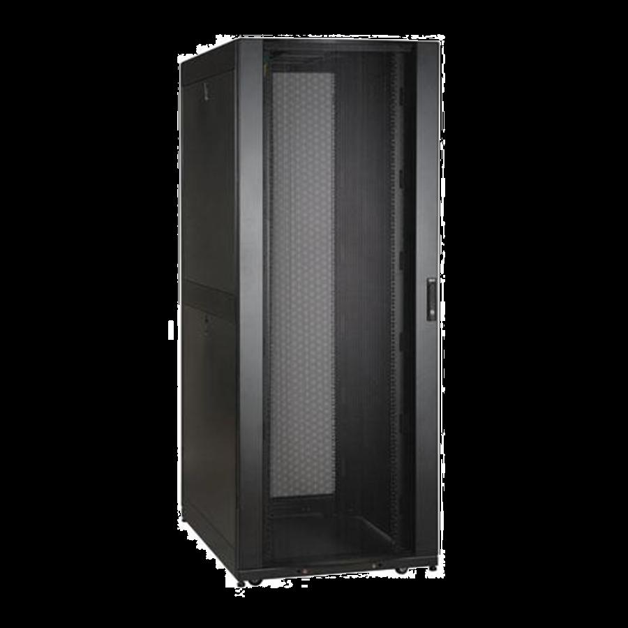 Enconnex-Standard-Server-Cabinet-Rack-Front-Black
