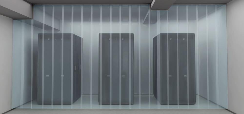 Aisle Containment Strip Curtain Wall