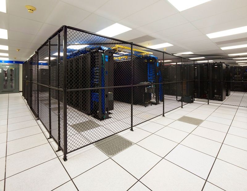 Server Rack Infrastructure: Data Center Cages
