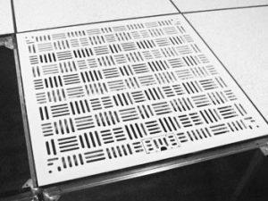 AF320 high flow raised access floor tile