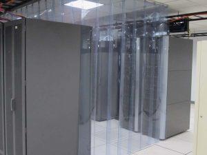 Aisle Containment Strip Doors