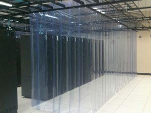 Aisle Containment Strip Wall Curtain