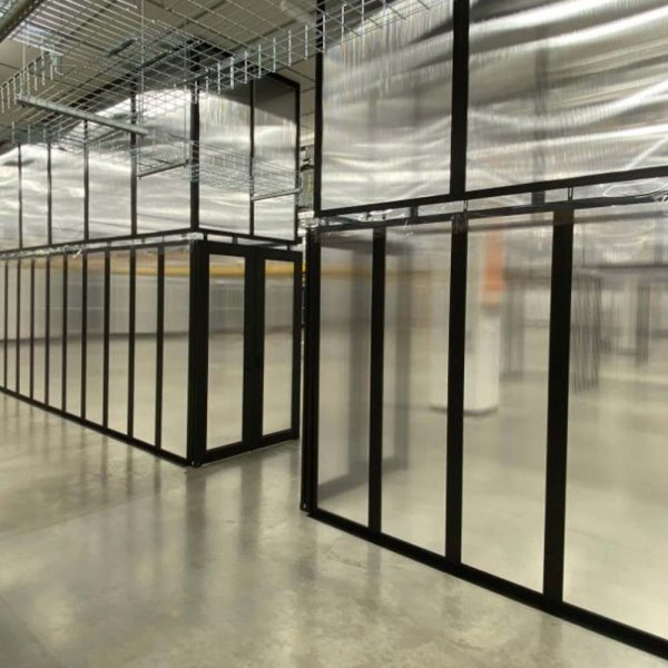 Aisle Containment Walls Data Center