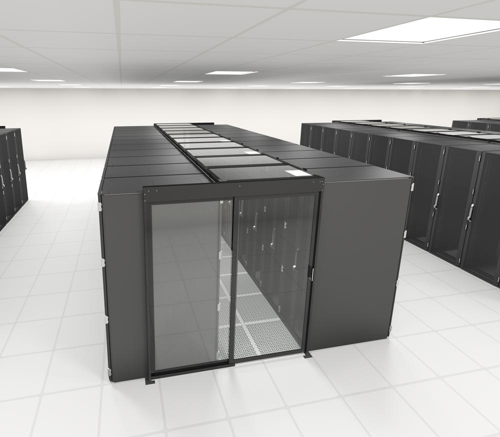 Single Sliding Containment Door Data Center Resources