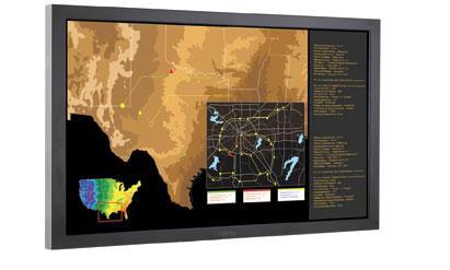 Planar LCD Display