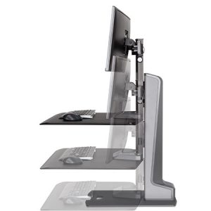 Winston E Sit Stand Monitor Arm