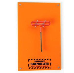 Wall mount floor tile puller lifter