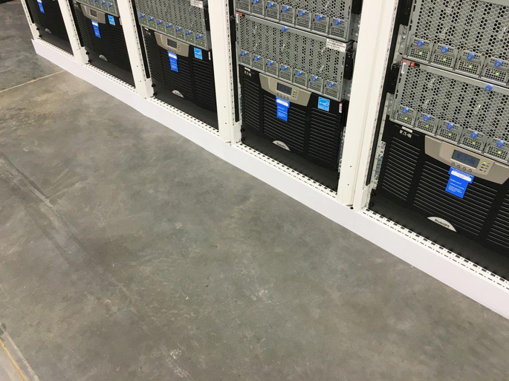 Magnetic Server Cabinet Footer Skirt