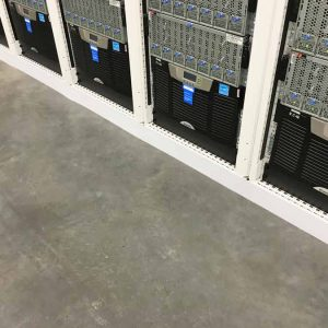 Magnetic Server Cabinet Footer Skirt