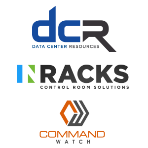 Logo lockup for DCR Command Watch and Inracks