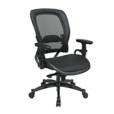 Black-Breathable-Mesh-Chair-Front-Thumb