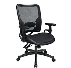 Dual Function Ergonmic Airgrid Chair Front