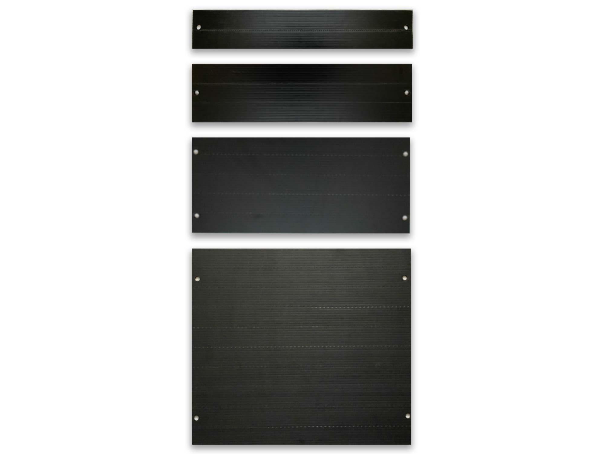Rackfill individual blanking panels